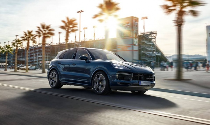 2018 Porsche Cayenne Turbo launched in Frankfurt Image #710300