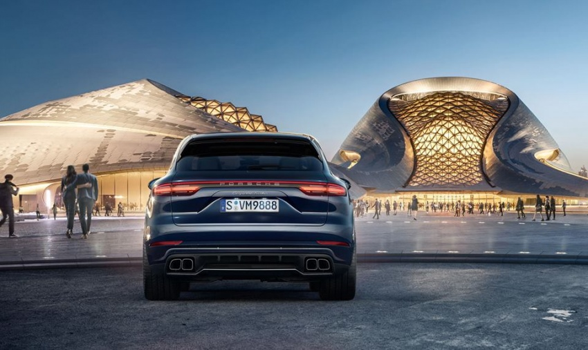 2018 Porsche Cayenne Turbo launched in Frankfurt Image #710301