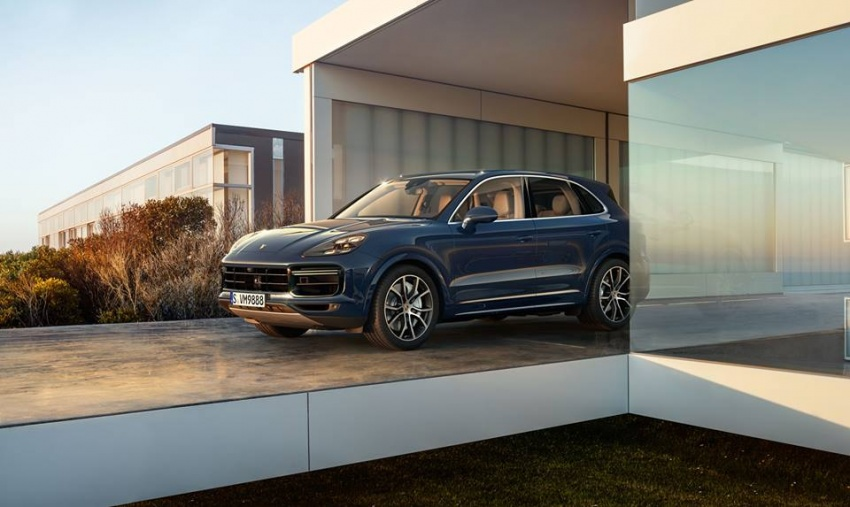 2018 Porsche Cayenne Turbo launched in Frankfurt Image #710303