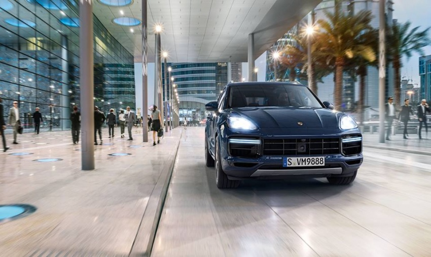 2018 Porsche Cayenne Turbo launched in Frankfurt Image #710305