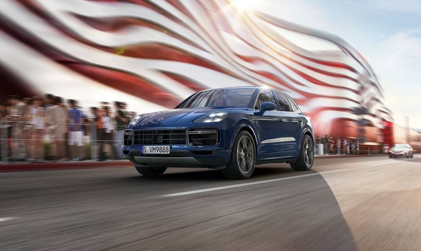 2018 Porsche Cayenne Turbo launched in Frankfurt Image #710306