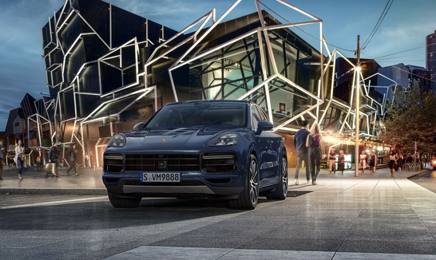 2018 Porsche Cayenne Turbo launched in Frankfurt Image #710307