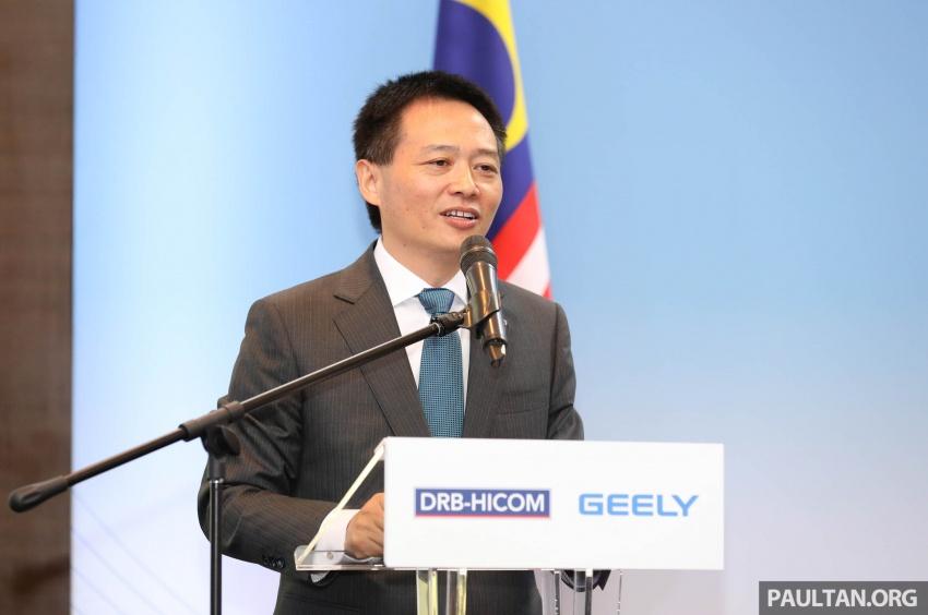 DRB Hicom-Zhejiang Geely umum pengurusan baharu Proton- Dr. Li Chunrong dilantik sebagai CEO Image #716919