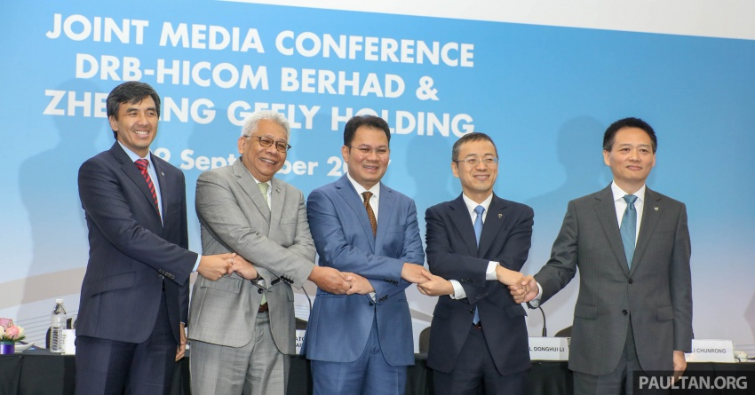 DRB-Hicom, Geely announce new Proton board – Li Chunrong is CEO, Winfried Vahland joins board Image #716930