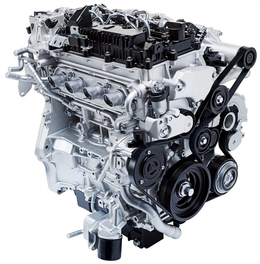 Mazda releases more details of new SkyActiv-X engine with compression ignition, next-gen Mazda 3 platform Image #707081