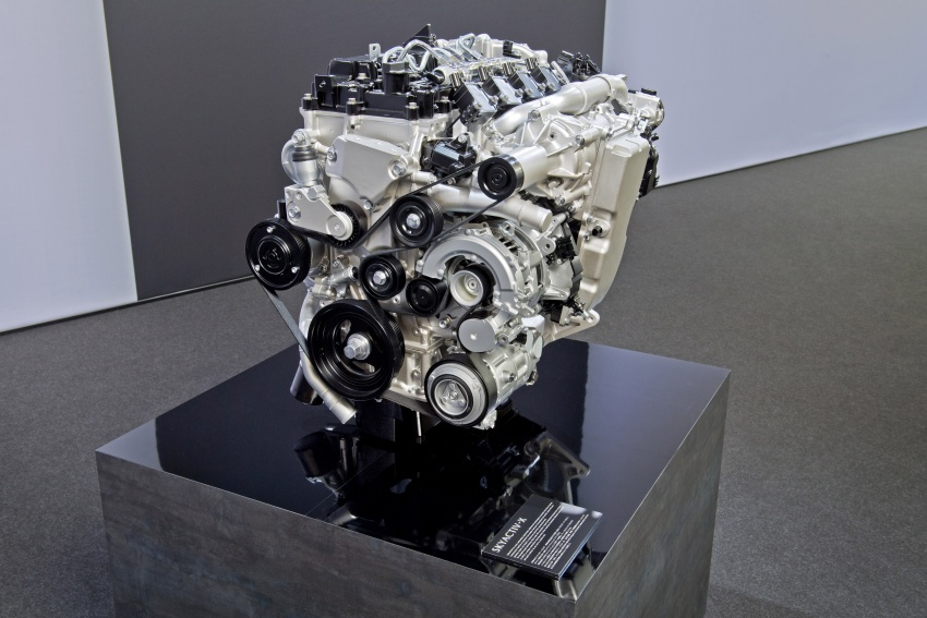 Mazda releases more details of new SkyActiv-X engine with compression ignition, next-gen Mazda 3 platform Image #707083
