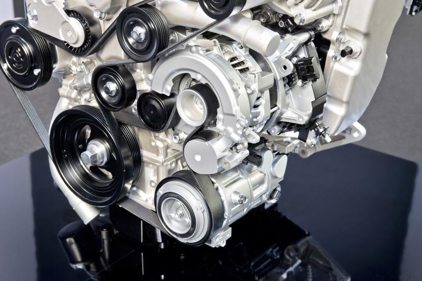 Mazda releases more details of new SkyActiv-X engine with compression ignition, next-gen Mazda 3 platform Image #707084