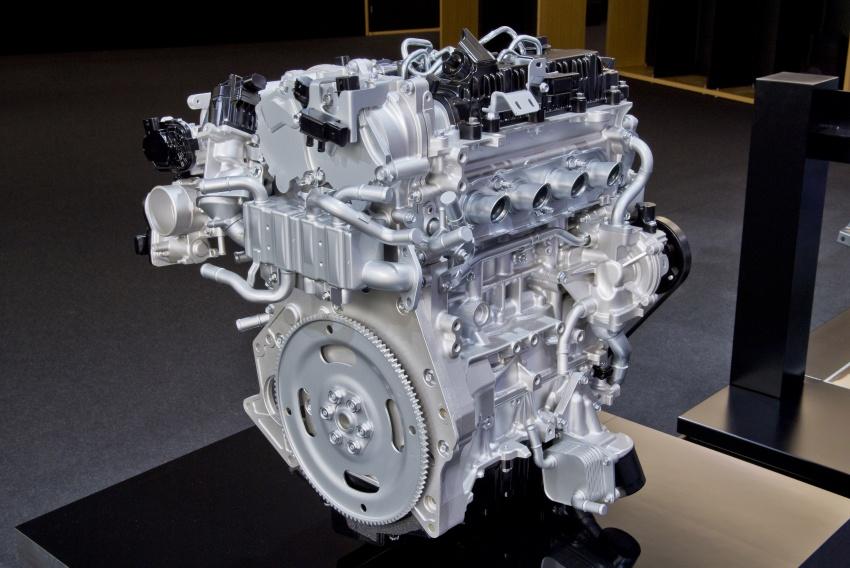 Mazda releases more details of new SkyActiv-X engine with compression ignition, next-gen Mazda 3 platform Image #707089
