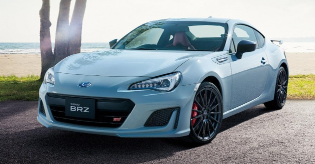 This Is The Subaru BRZ STI Sport, Which Is Set To Premiere At This Yearu0027s  Tokyo Motor Show. Yes, Its Another Special Edition Of The Boxer Powered Sports  Car ...
