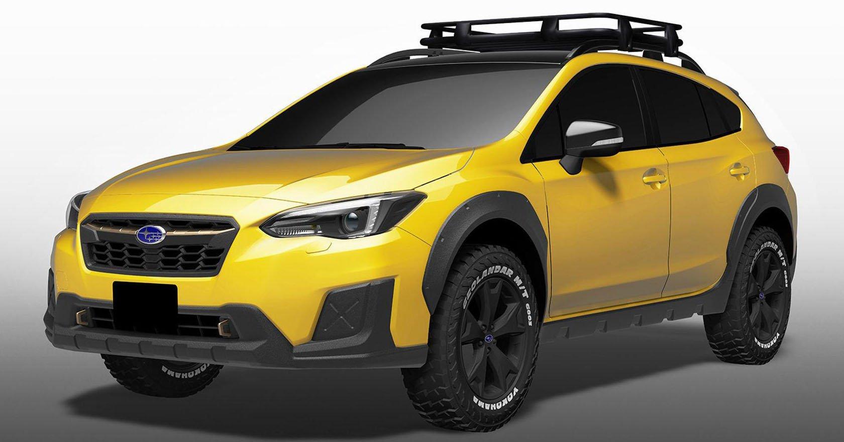 Subaru Xv And Impreza Concepts Destined For Tokyo Paul Tan