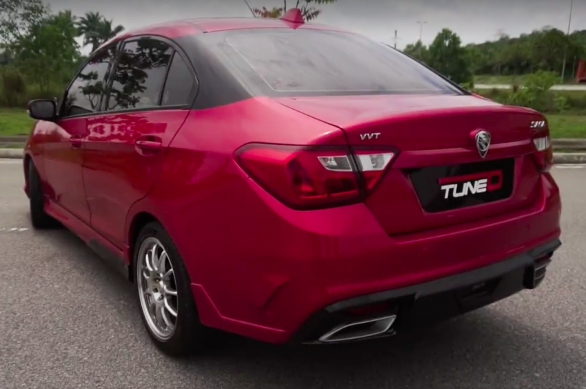 TuneD shows revised Proton Saga bodykit – RM5,490 Image #710483