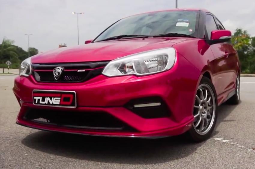 TuneD shows revised Proton Saga bodykit – RM5,490 Image #710485