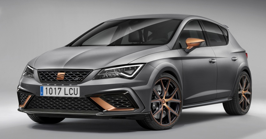 Seat Leon Cupra R – up to 310 PS, limited to 799 units Image #705833