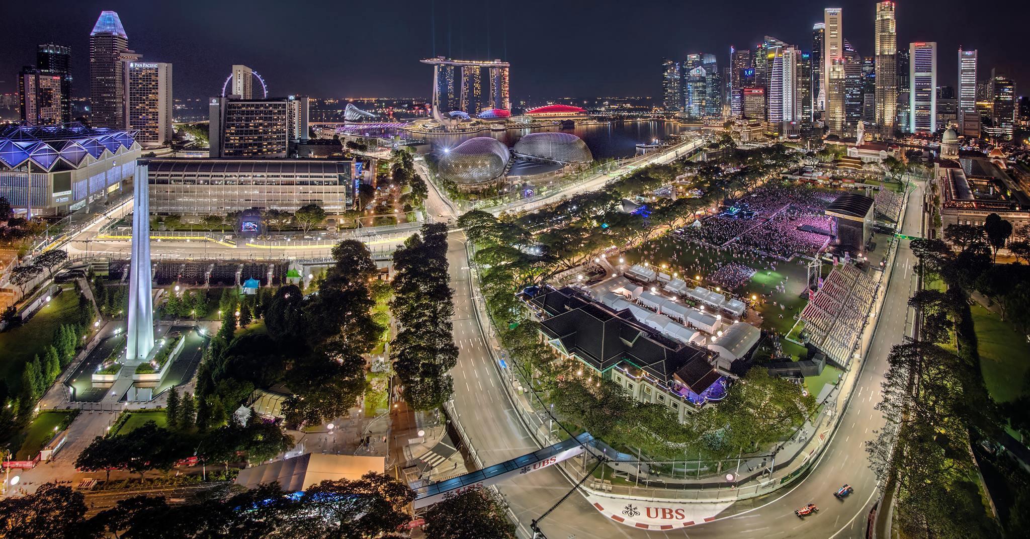 Singapore will continue hosting Formula 1 until 2021