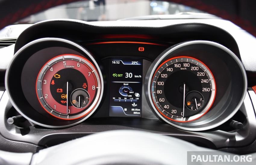 New Suzuki Swift Sport officially revealed in Frankfurt – 1.4L turbo engine, six-speed manual, only 970 kg Image #709902