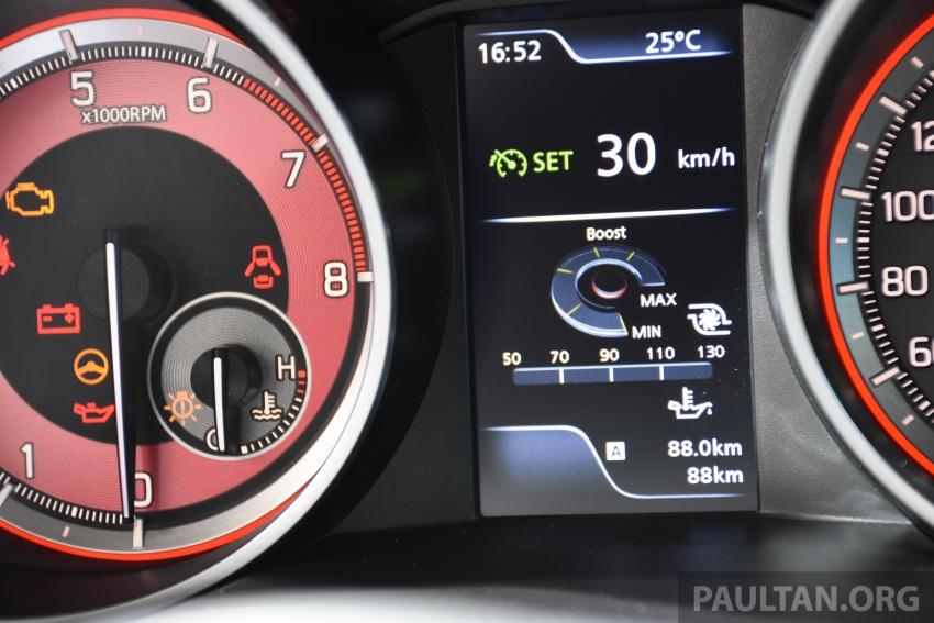New Suzuki Swift Sport officially revealed in Frankfurt – 1.4L turbo engine, six-speed manual, only 970 kg Image #709904