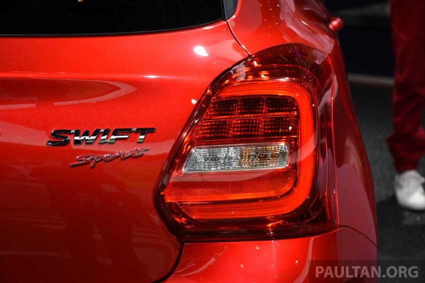 New Suzuki Swift Sport officially revealed in Frankfurt – 1.4L turbo engine, six-speed manual, only 970 kg Image #709893