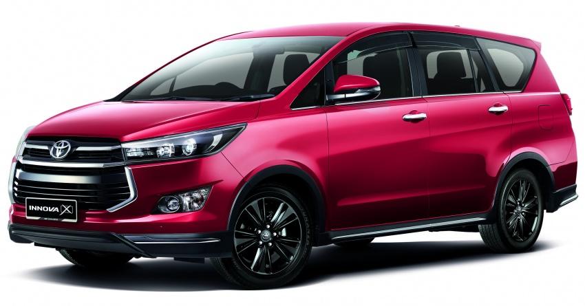 Toyota Innova 2.0X gets captain seats, LED headlights; 7 airbags standard across updated range, fr RM108k Image #711661