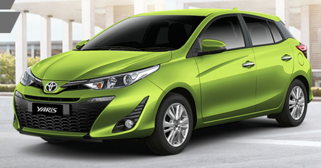 toyota yaris facelifted in thailand ativ style front and cabin 7 airbags and vsc standard. Black Bedroom Furniture Sets. Home Design Ideas