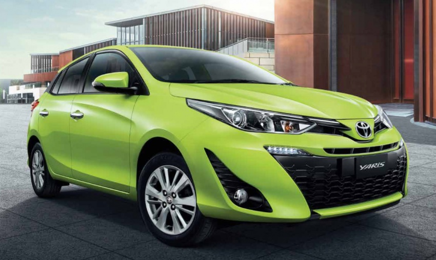 Toyota Yaris facelifted in Thailand – Ativ-style front and cabin, 7 airbags and VSC standard, from RM60k Image #712210