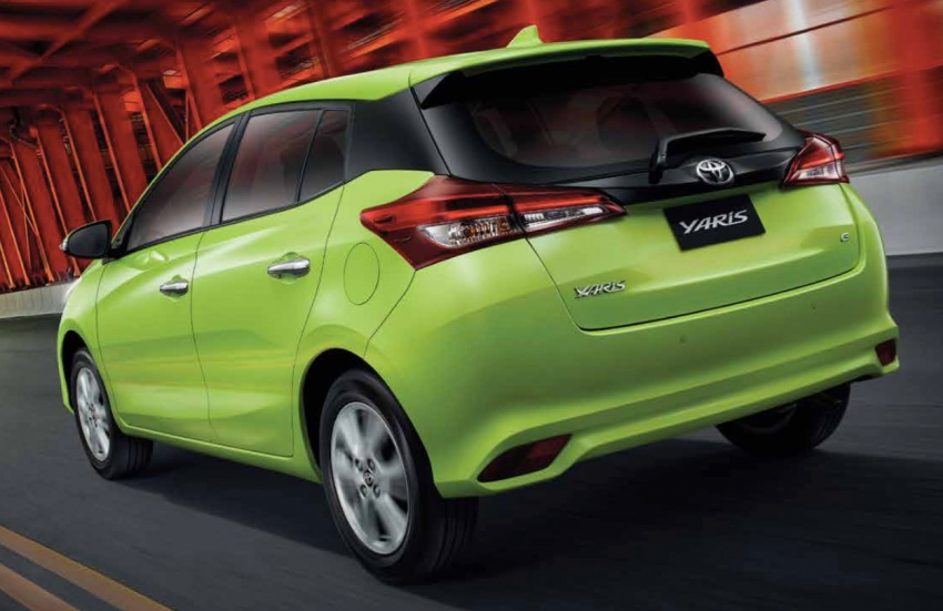 Toyota Yaris facelifted in Thailand – Ativ-style front and cabin, 7 airbags and VSC standard, from RM60k Image #712213