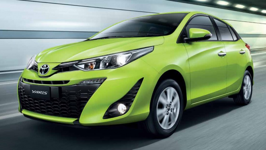 Toyota Yaris facelifted in Thailand – Ativ-style front and cabin, 7 airbags and VSC standard, from RM60k Image #712214