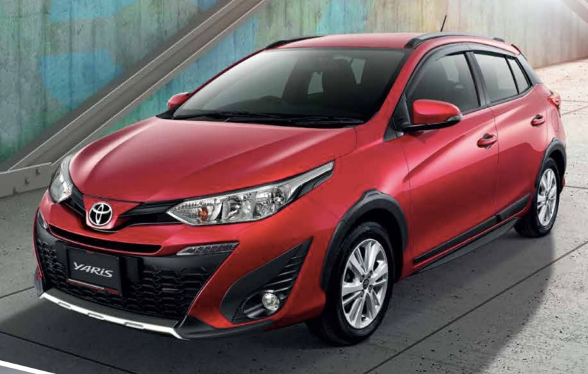 Toyota Yaris facelifted in Thailand – Ativ-style front and cabin, 7 airbags and VSC standard, from RM60k Image #712215
