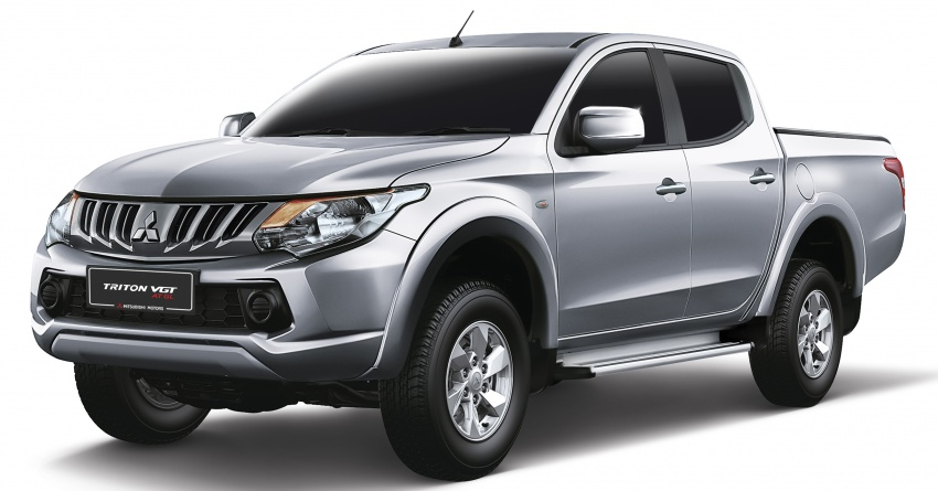 Mitsubishi Triton VGT AT GL launched in Malaysia – new entry-level VGT variant priced at RM103,800 Image #706562