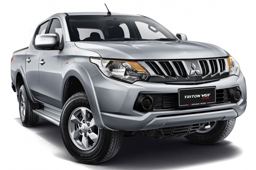 Mitsubishi Triton VGT AT GL launched in Malaysia – new entry-level VGT variant priced at RM103,800 Image #706563
