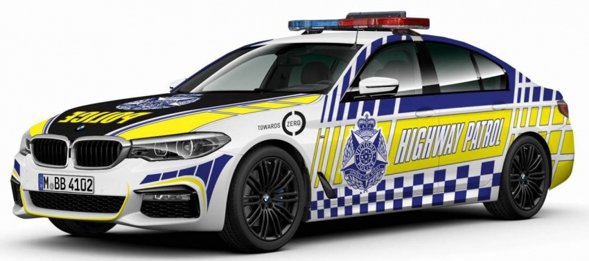G30 BMW 530d is Victoria Police's new patrol car – 80 units to join fleet by end-2018, all with 'police pack' Image #713239