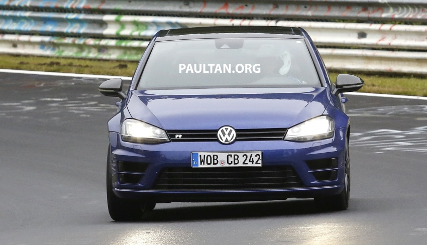 SPIED: Volkswagen Golf R420 – watch out, AMG A45! Image #713213
