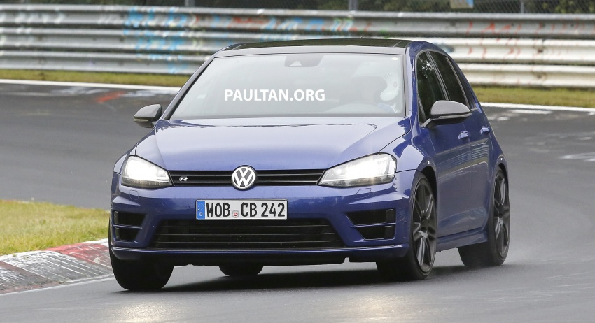 SPIED: Volkswagen Golf R420 – watch out, AMG A45! Image #713214