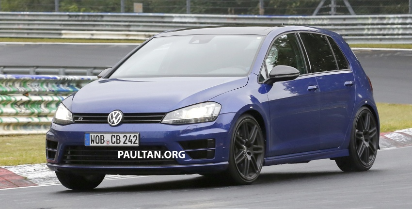 SPIED: Volkswagen Golf R420 – watch out, AMG A45! Image #713215