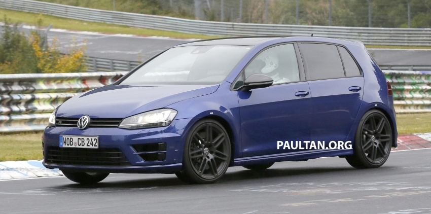 SPIED: Volkswagen Golf R420 – watch out, AMG A45! Image #713216