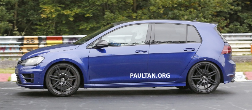SPIED: Volkswagen Golf R420 – watch out, AMG A45! Image #713217
