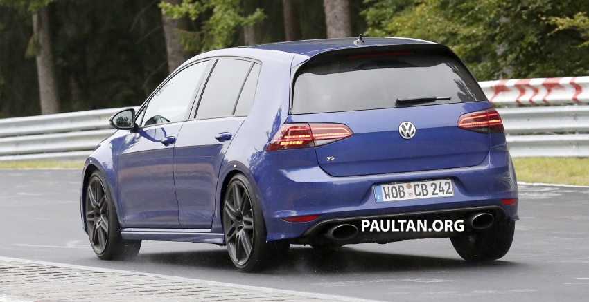 SPIED: Volkswagen Golf R420 – watch out, AMG A45! Image #713219