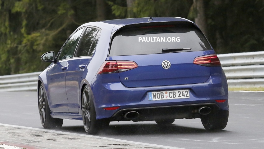 SPIED: Volkswagen Golf R420 – watch out, AMG A45! Image #713220