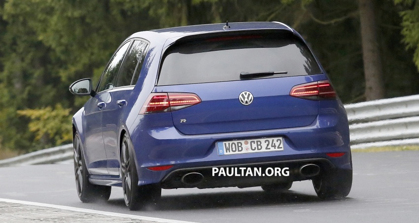 SPIED: Volkswagen Golf R420 – watch out, AMG A45! Image #713221