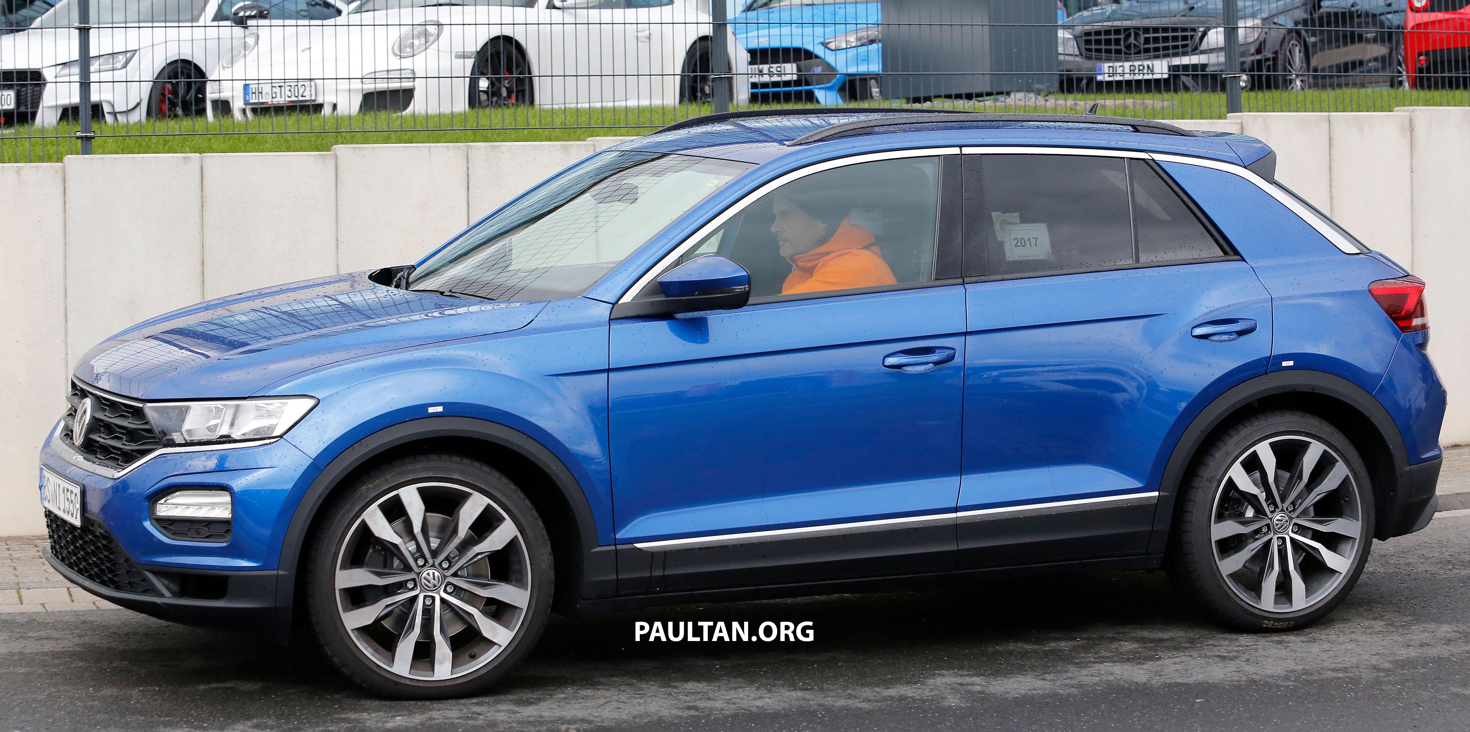 SPYSHOTS: Volkswagen T-Roc R to get Golf R grunt Paul Tan ...