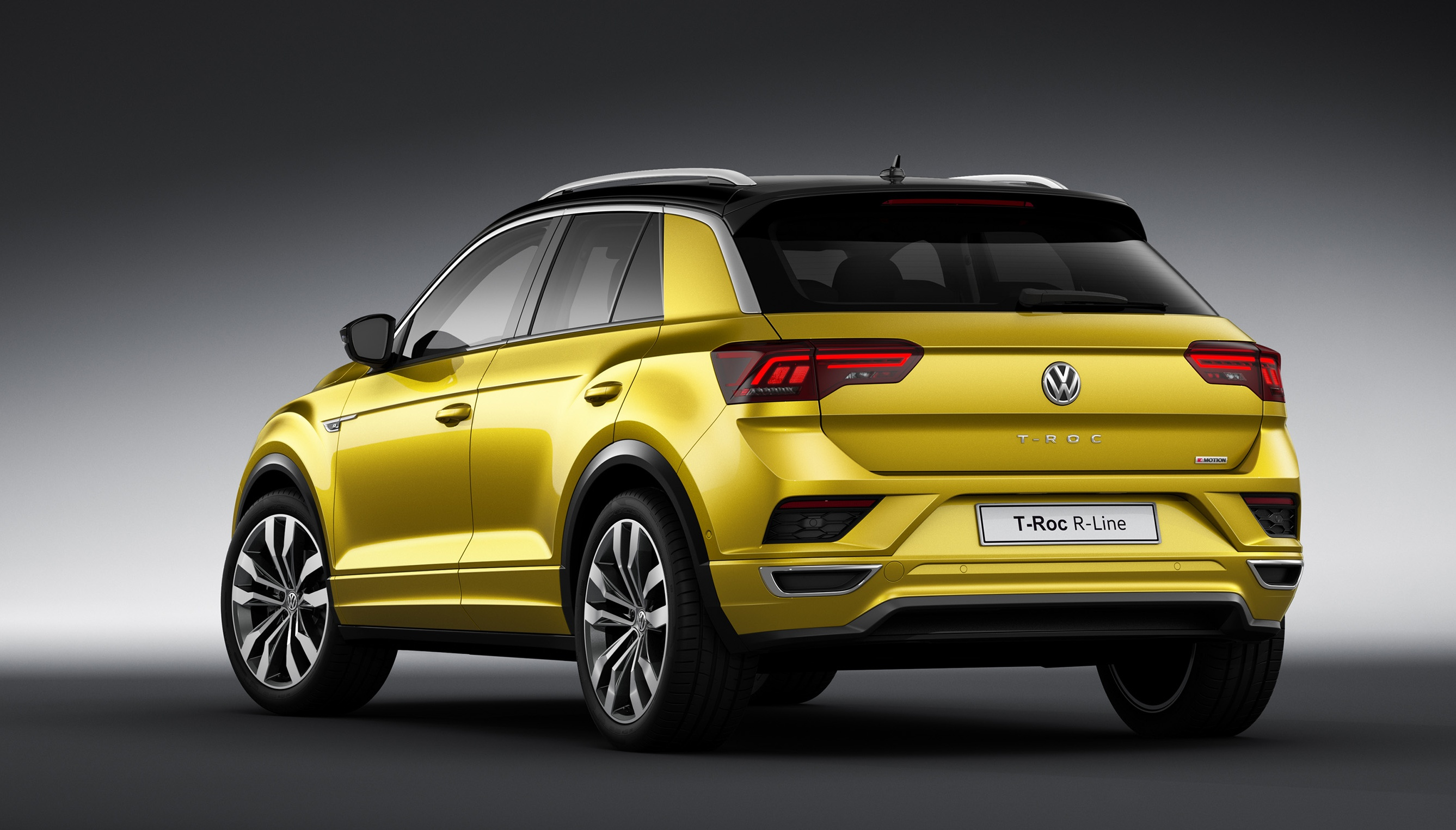 volkswagen t roc r line unveiled sportier look image 710376. Black Bedroom Furniture Sets. Home Design Ideas
