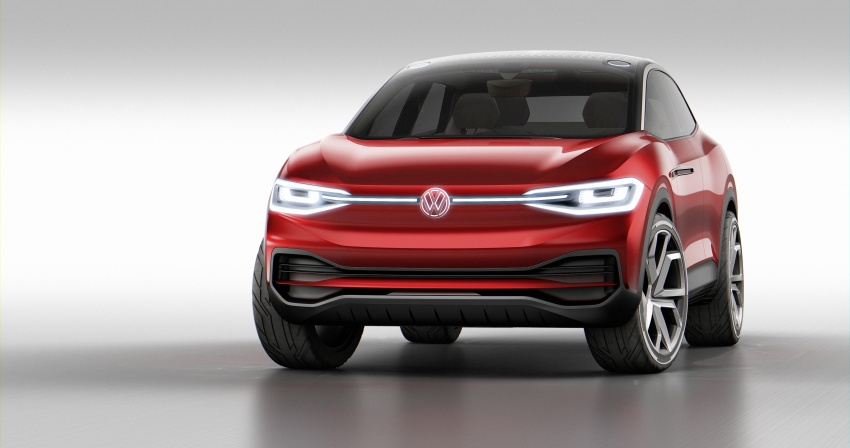 VW I.D. Crozz updated in Frankfurt – part of EV thrust Image #708715