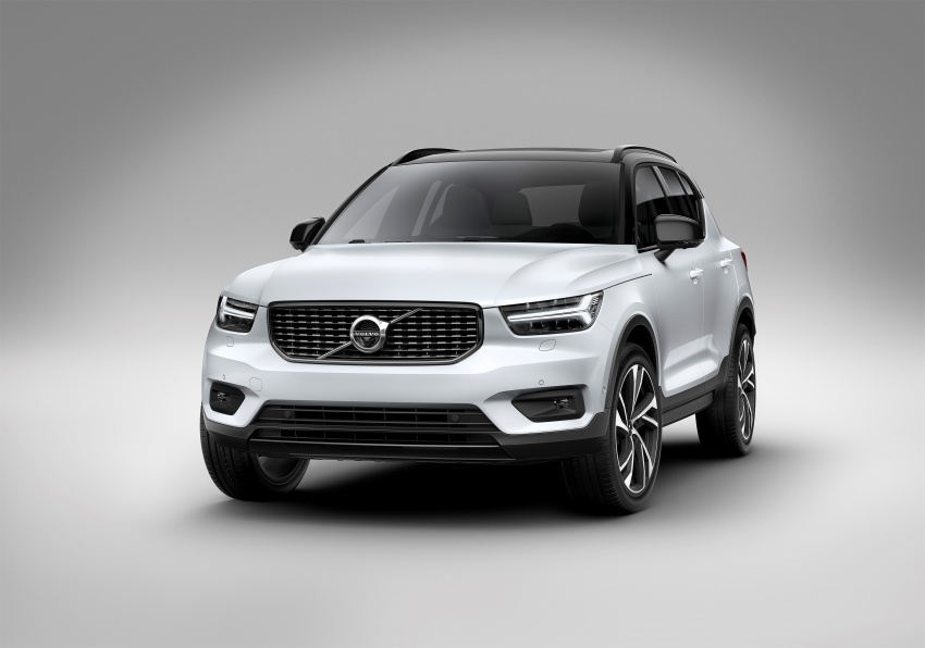 Volvo XC40 officially revealed – CMA platform, Drive-E engines, first model offered in 'Care by Volvo' service Image #714172