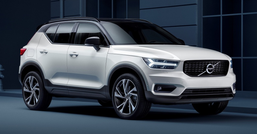 Volvo XC40 officially revealed – CMA platform, Drive-E engines, first model offered in 'Care by Volvo' service Image #714182