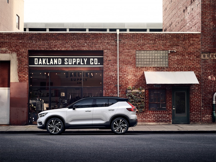 Volvo XC40 officially revealed – CMA platform, Drive-E engines, first model offered in 'Care by Volvo' service Image #714183