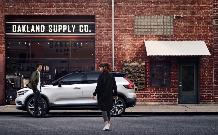 Volvo XC40 officially revealed – CMA platform, Drive-E engines, first model offered in 'Care by Volvo' service Image #714184