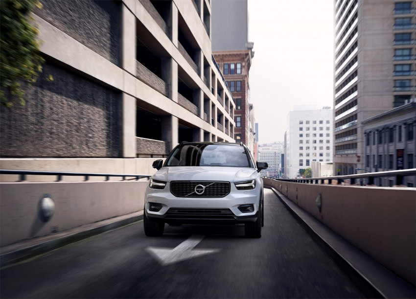 Volvo XC40 officially revealed – CMA platform, Drive-E engines, first model offered in 'Care by Volvo' service Image #714189