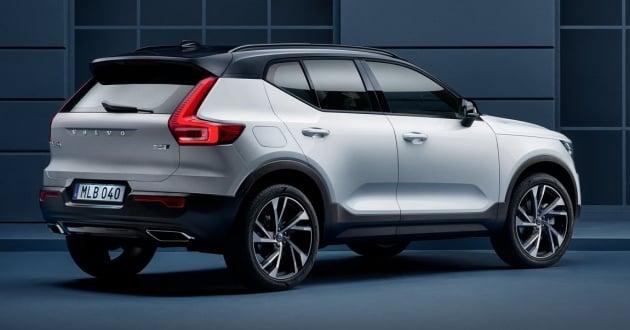 Volvo Xc40 Officially Revealed Cma Platform Drive E Engines