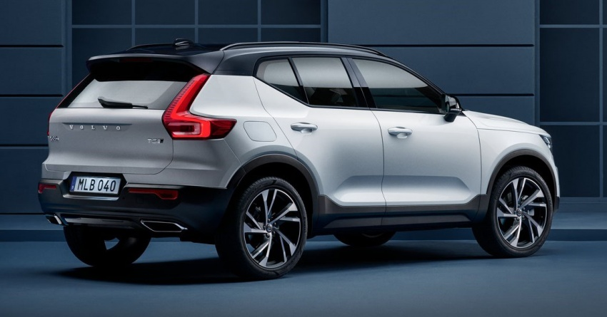 Volvo XC40 officially revealed – CMA platform, Drive-E engines, first model offered in 'Care by Volvo' service Image #714192