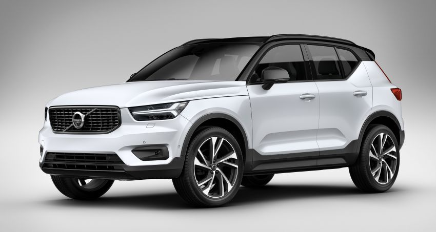 Volvo XC40 officially revealed – CMA platform, Drive-E engines, first model offered in 'Care by Volvo' service Image #714174