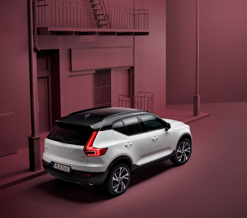 Volvo XC40 officially revealed – CMA platform, Drive-E engines, first model offered in 'Care by Volvo' service Image #714193